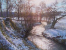 Winter Sunlight. Inverquharity. SOLD