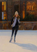 Girl Skating George Square. SOLD
