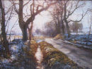 A Thaw on the Road to Glenogil. SOLD