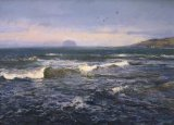 """Incoming Tide, North Berwick"""