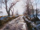 """Winter Light in Glenogil"""