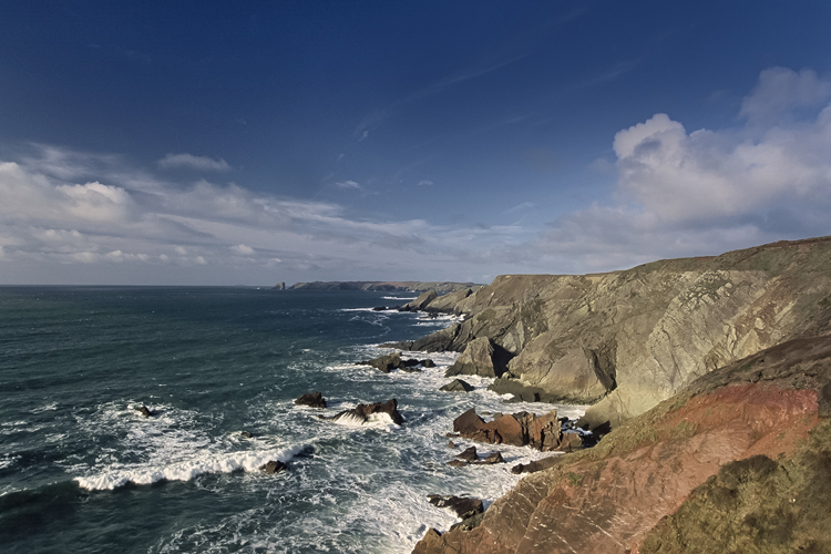 View North from Gateholm Island, Marloes