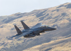 "F-15E Strike Eagle ""Roar 31 "" Flight"