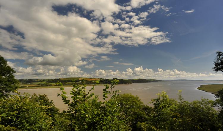 Laugharne - Taf Estuary