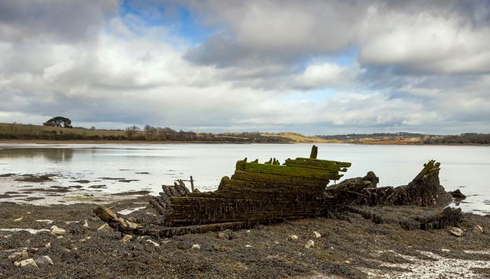 Lawrenny - Cresswell River - Pembrokeshire. 002