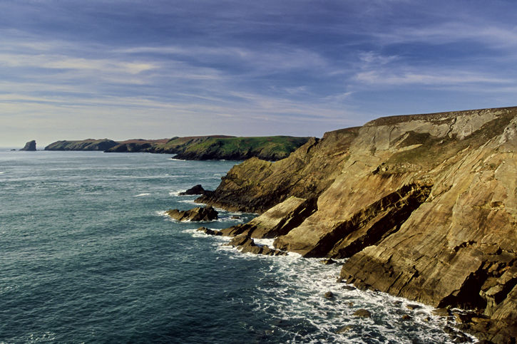 View to Skomer Island - Martins Haven