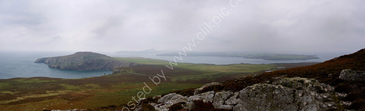 Ramsey Island - View looking north from Carn Ysgubor