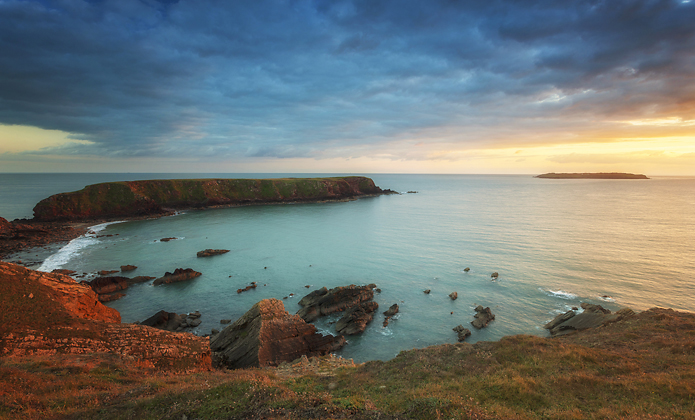 Gateholm Island - Pembrokeshire.