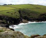 Coast path near Port Isaac