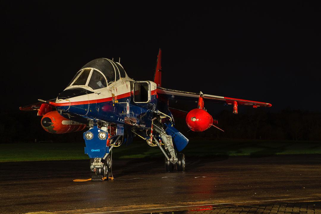 2 seat raspberry ripple Jaguar at Cosford.