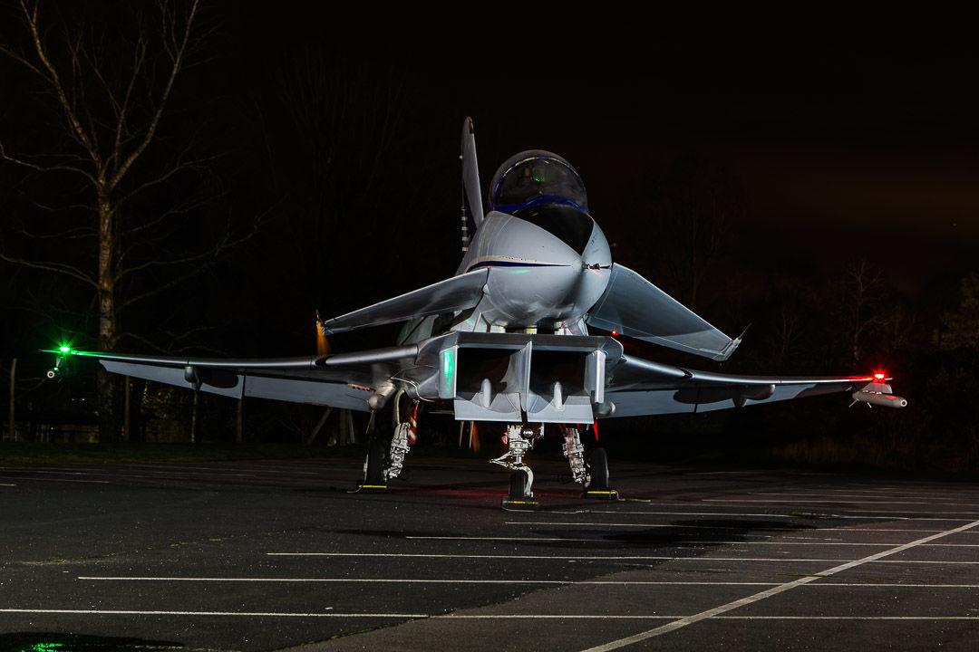 EAP development jet at Cosford