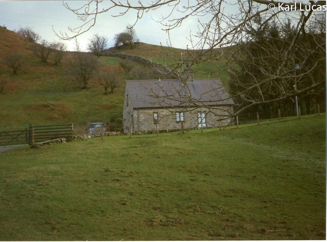 Remote cottage near Dolgellau