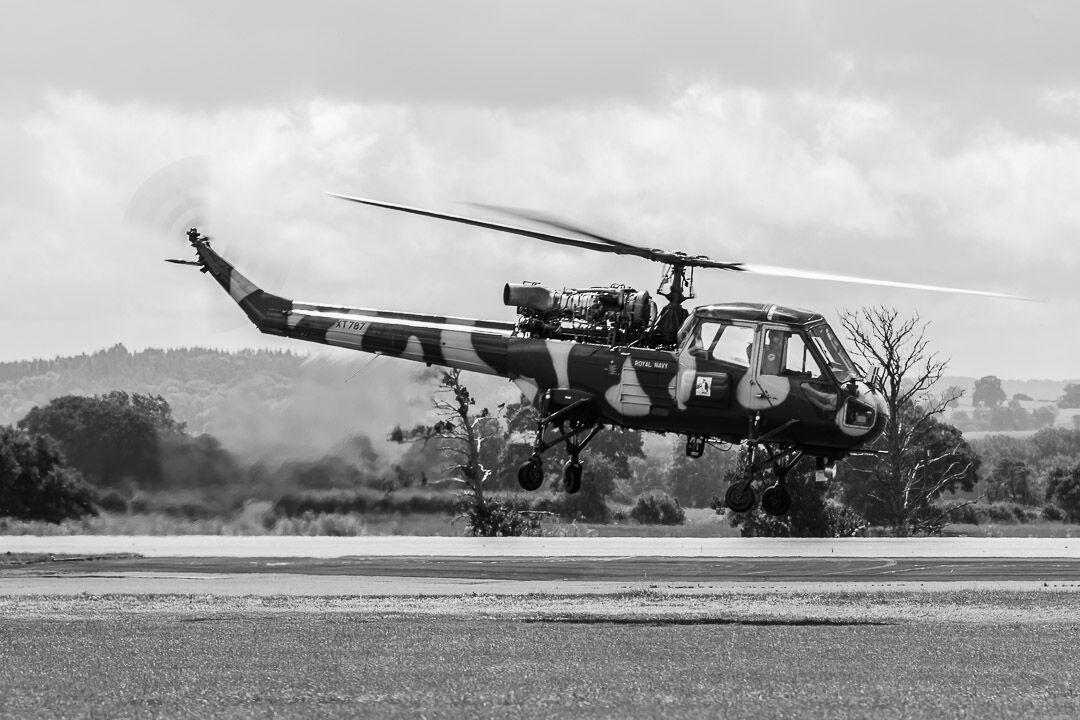 Royal Navy Wasp XT787.