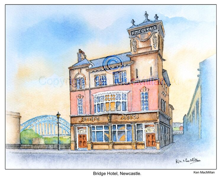 Bridge Hotel, Newcastle upon Tyne.