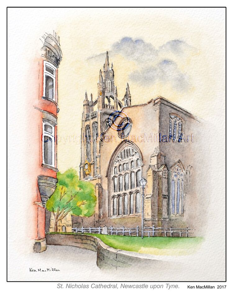 St. Nicholas Cathedral, Newcastle upon Tyne.