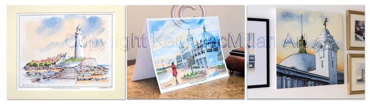Prints cards and canvases