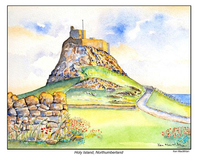 Holy Island, Northumberland.