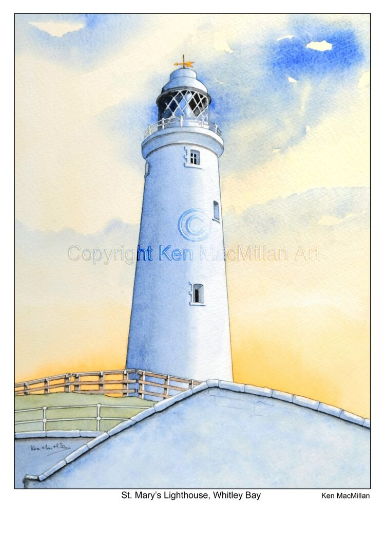 St. Mary's Lighthouse, Whitley Bay.