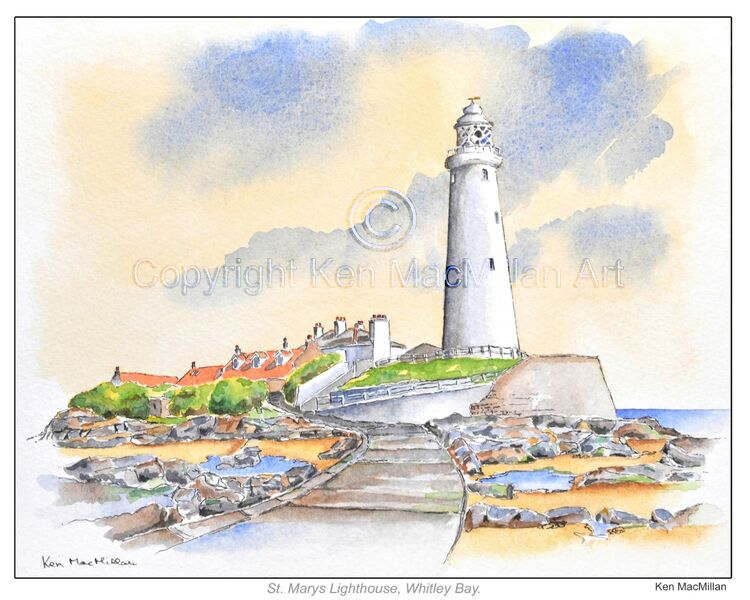 St. Marys Lighthouse, Whitley Bay.