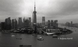 Shanghai along the Huangpu river China