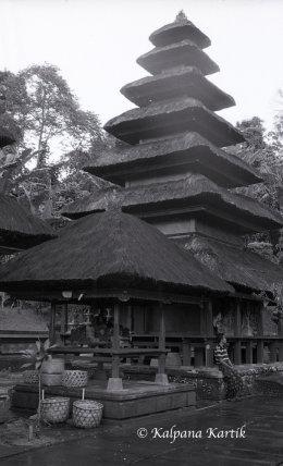 Temple of Batukaru on the island of Bali Indonesia