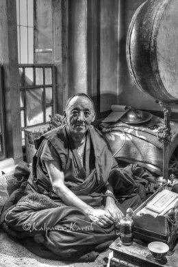 Tibetan monk Lhasa Tibet