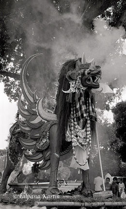 Cremation in Bali Indonesia