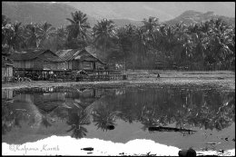 Fishing village on the island of Flores Indonesia
