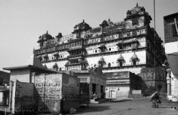 The Satkhanda Palace in Datia India