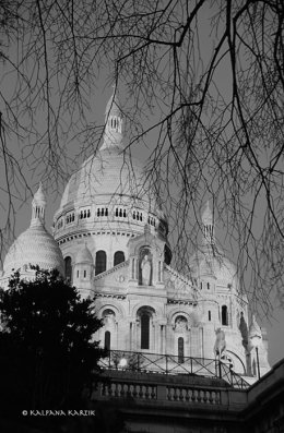 The Basilica of Sacred Heart Montmartre
