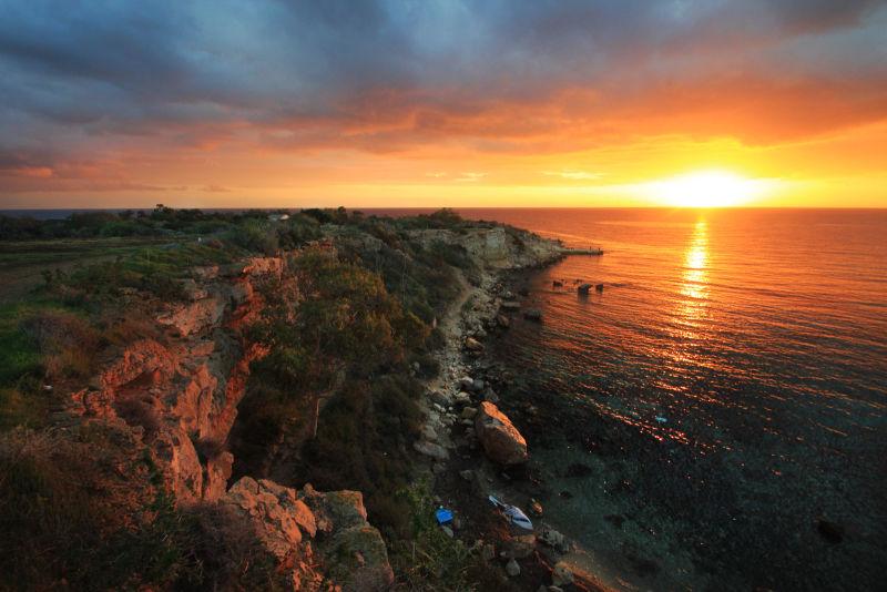 Sunrise at Cape Greco