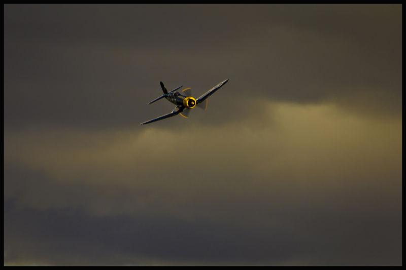 Corsair in Storm.