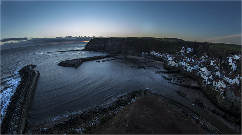 Staithes. North Yorkshire.