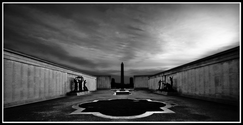 """""""Walls with to many names"""" ! UK National War Memorial."""