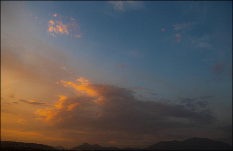 My sky !