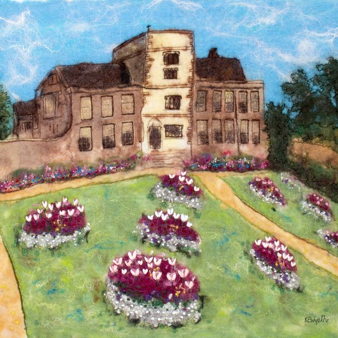 Canons Ashby in the Spring - sold
