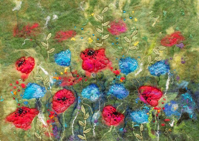 Cornflowers & Poppies
