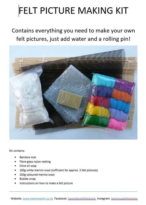 Felt Picture Making Kit
