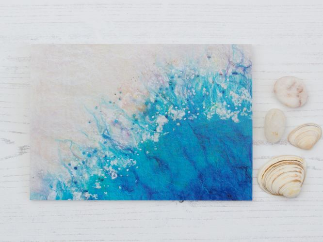 Incoming Tide Greetings Card