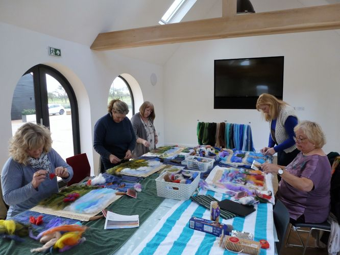 Beginners Felt Picture Making Workshop