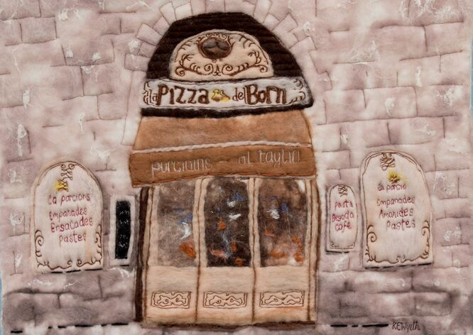 Pizza de Born, Barcelona