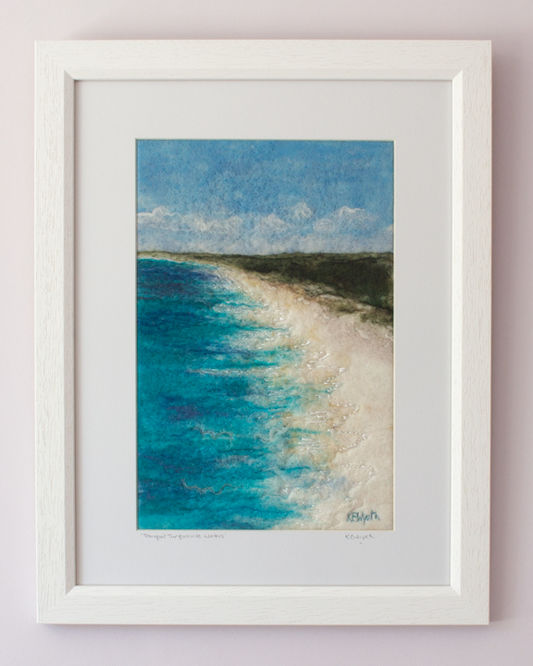 Tranquil Turquoise Waters - sold