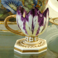 Derby Museum's antique porcelain ice cup