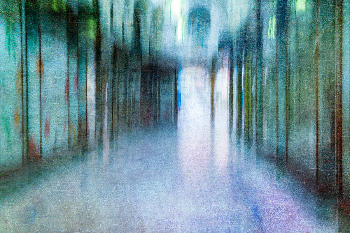 Abstract Street scene