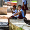 Cheeky in Trinidad, Cuba
