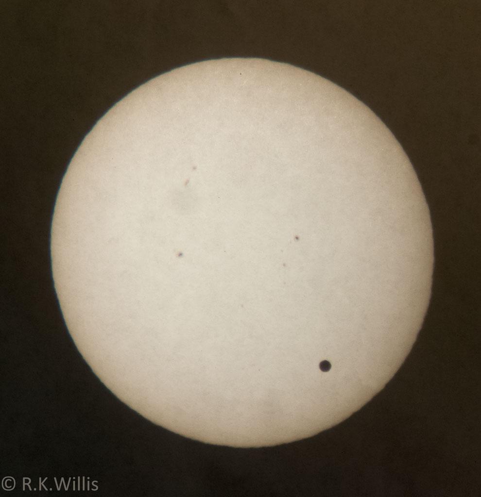 Transit of Venus 6-5-2012