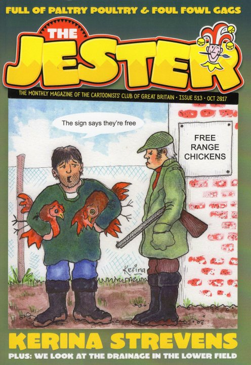 The Jester Magazine, the Cartoonist's Club of Great Britain.