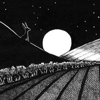 Jack Hare and the Moon