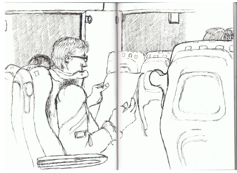 Man On A Train 2