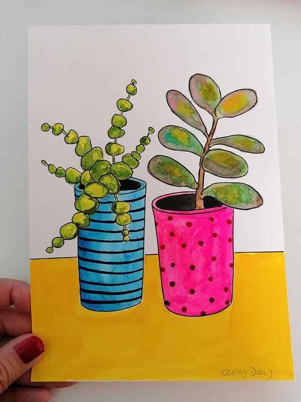 Kerry Day - Botanical Watercolour